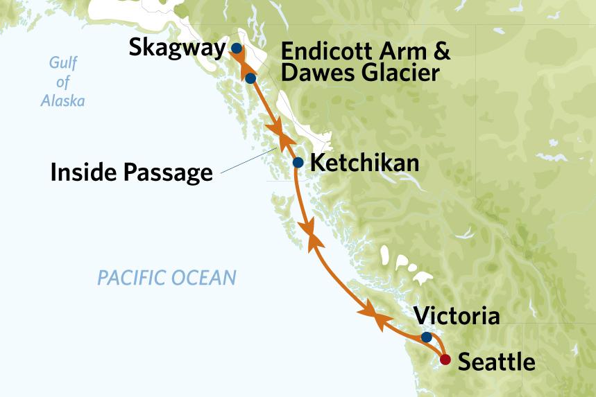 7 night alaska cruise on celebrity solstice roundtrip seattle