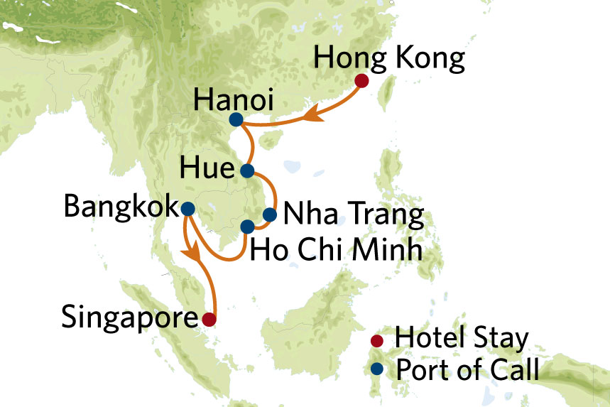 Celebrity Southeast Asia Cruise Package