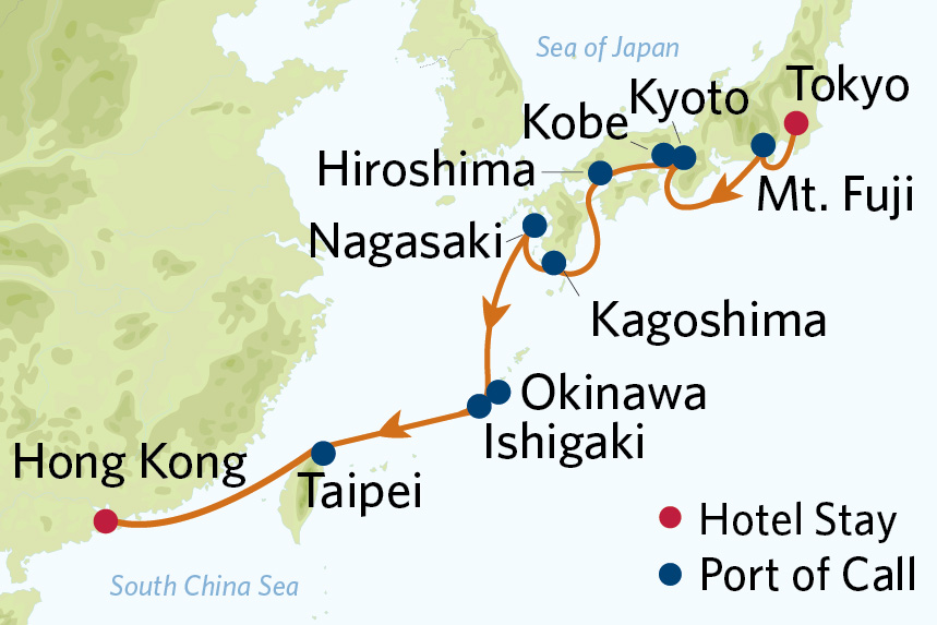 Celebrity Asia Cruise Package