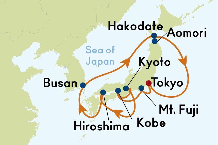 12 night roundtrip tokyo japan cruise on celebrity solstice