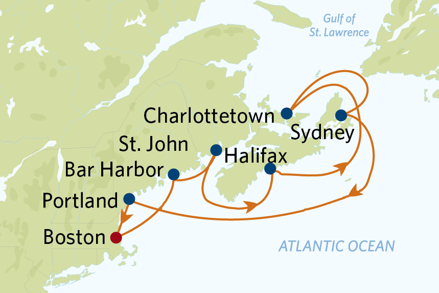 10 night canada new england celebrity cruise from boston
