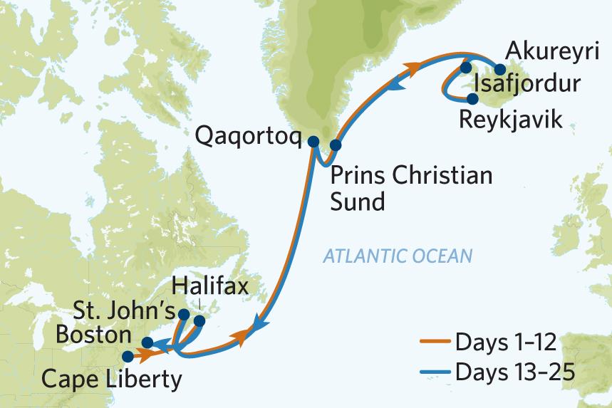 Celebrity Iceland Cruise