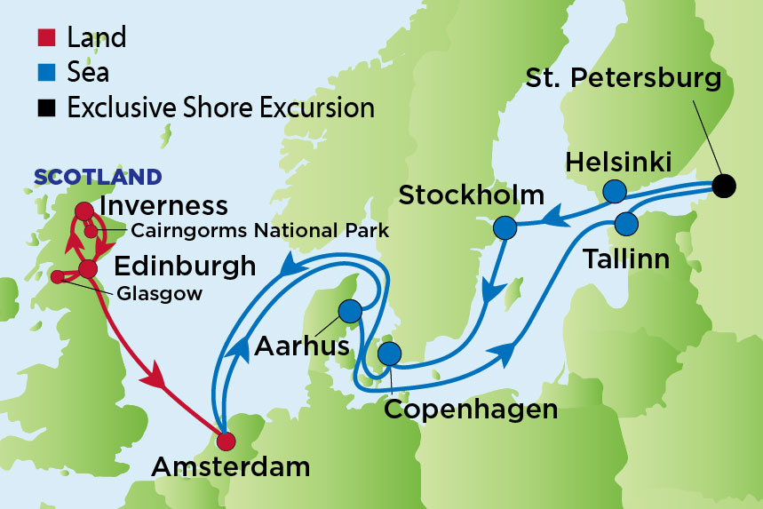 RCCL Scottish Highlands and Baltic