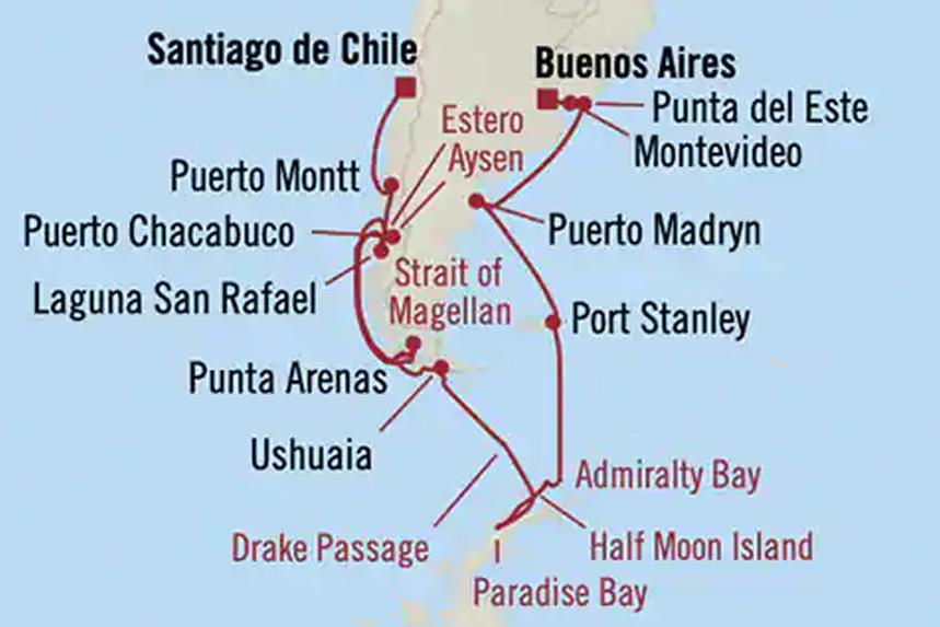 Oceania South America Luxury Cruise