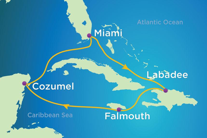 RCCL Allure 7 Nt Caribbean