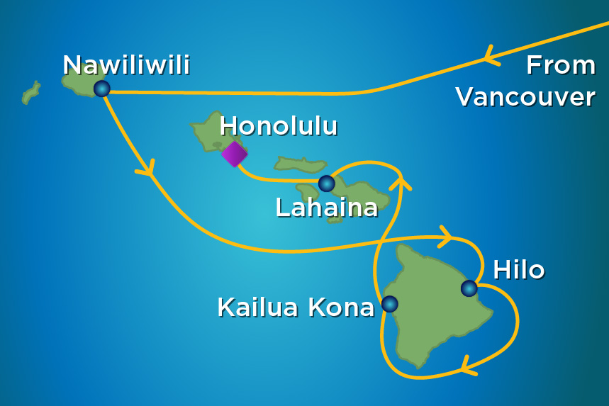 11 Night Hawaii with Airfare YVR to HNL