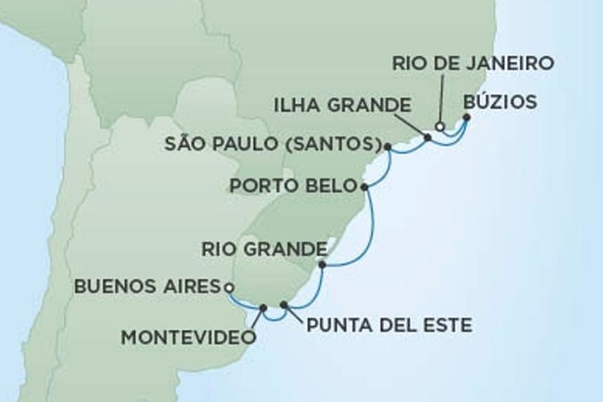 RSSC South America Luxury Cruise
