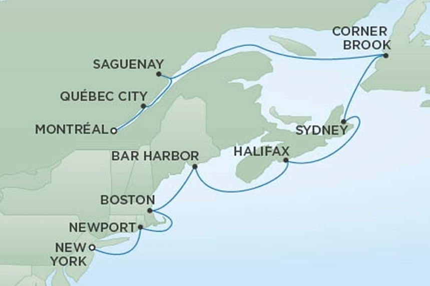 RSSC Luxury Canada Cruise