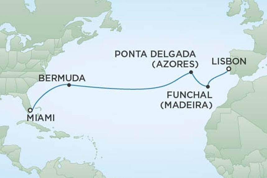 RSSC Luxury Transatlantic Cruise