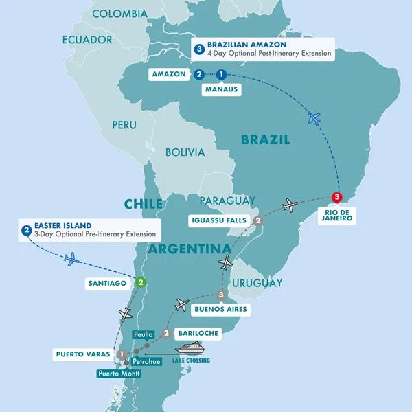 Trafalgar South America Landtour