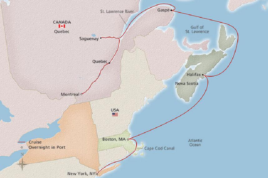 Eastern Seaboard Explorer