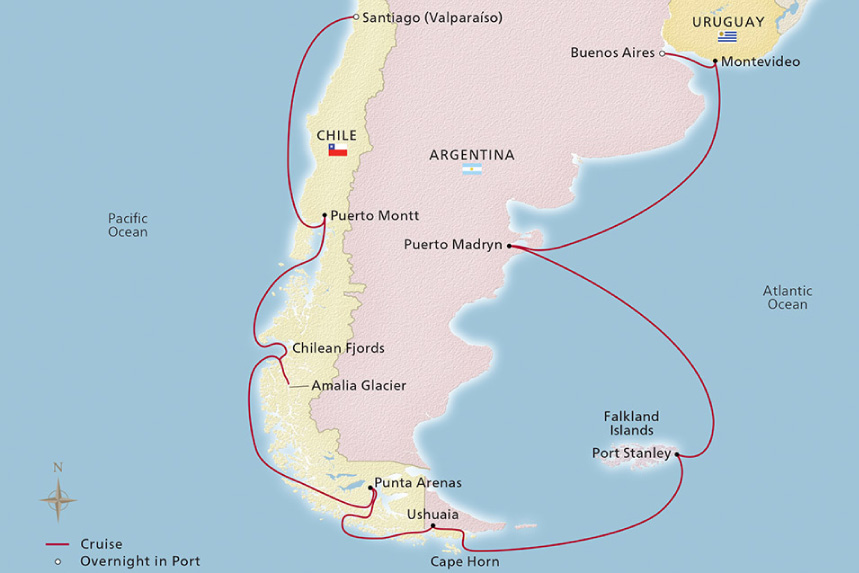 South America & Antarctic Discovery